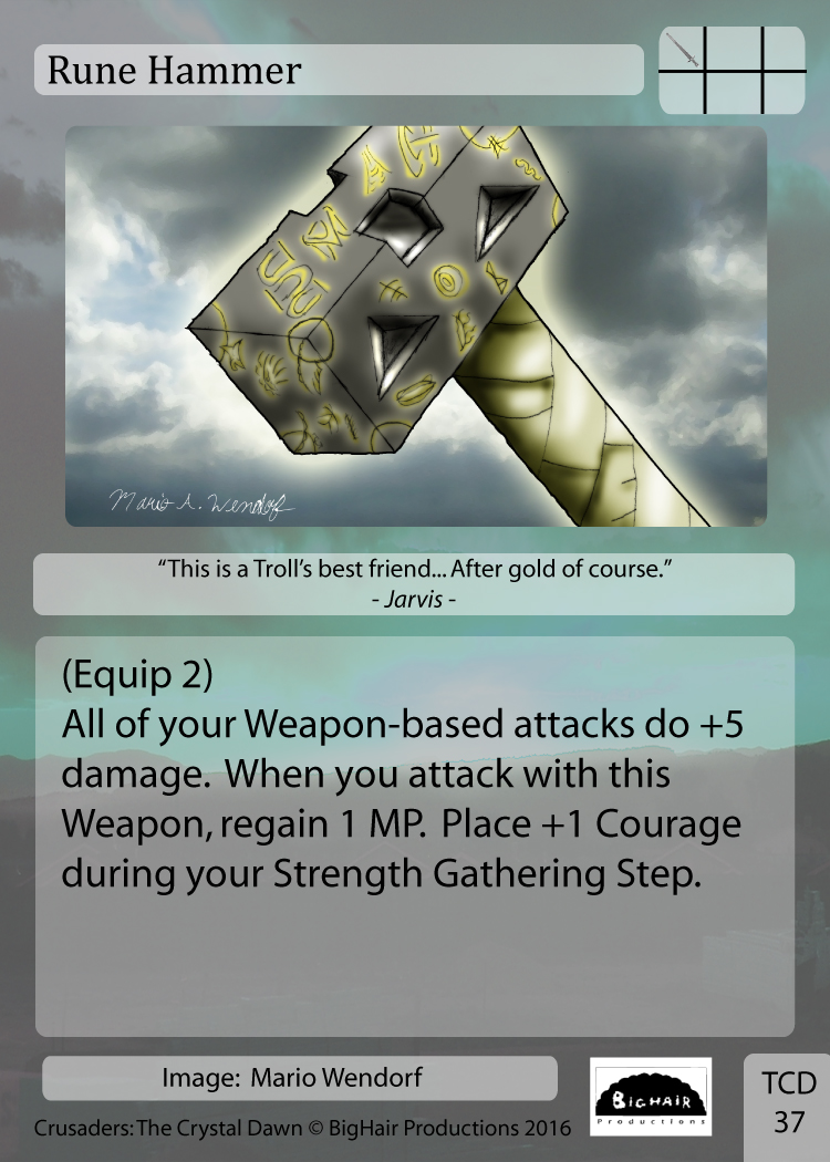 0037 Rune Hammer